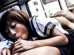 Hottest Japanese model in Fabulous JAV uncensored Teen scene