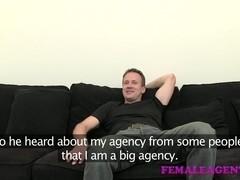 FemaleAgent: Spectacular cock control