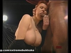 ExtremeBukkake Video: The Titty Queen