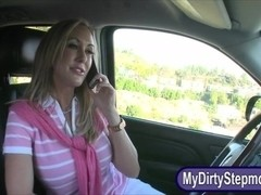 Cute teen Casi James shared BF with her stepmom Brandi Love