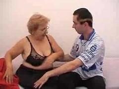 Russian Granny And Fella 141