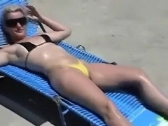 Golden-Haired mother I'd like to fuck fed some cum in backyard