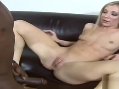 Astonishing porn movie Interracial great uncut