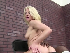 Crazy pornstars Rob Piper, Anikka Albrite in Horny Interracial, Blonde porn scene