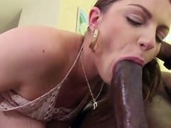 Brooklyn Chase in Brooklyn Chase gets a monster creampie! Video