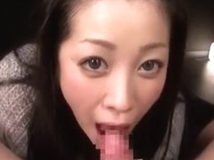 Hottest Japanese whore Minako Komukai in Crazy Close-up, Blowjob/Fera JAV clip