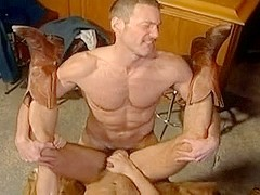 Two Horny Gay Couples Fucking In This Gay Whore House