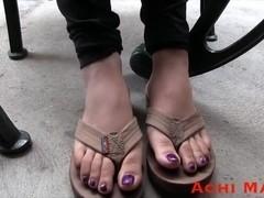 Latina Feet Modeling - Mayra