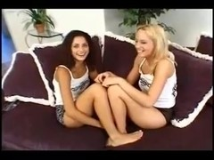 Hot Teens Bunny Luv & CassideyPaizley Adams Lick Pussy