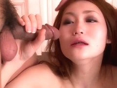 Exotic Japanese chick Yayoi Orikasa in Horny JAV uncensored Blowjob clip