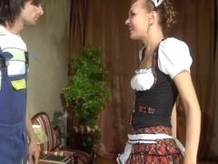 AnalScreen Movie: Aubrey and Gerhard