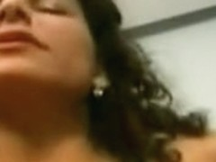Mexican mommy makes her homemade non-professional debut