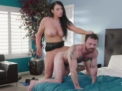 Sergeant Miles & Aspen Brooks in Father's Day Lay - TransAngels