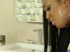 Layton Benton massages the cum out of his dick