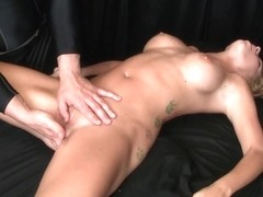 Porn video with blonde who asks for hot massage sex