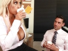 Bridgette B. & Ryan Driller in NaughtyOffice