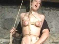 fastened whoppers riding a fur pie rope