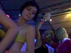 Non-stop hardcore group sex