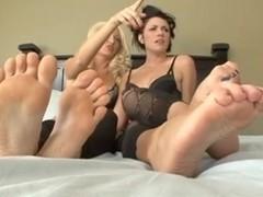 Lesbos Foot Pleasure - Steamystick