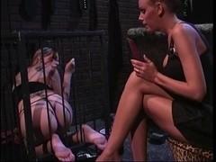 two smokin' sexy honeys into thraldom & foot fetish