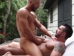 Big dick boy outdoor and cumshot