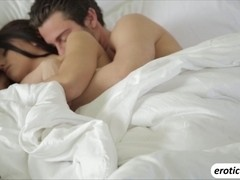 Sexy Adriana Chechik gets very erotic as she makes love with her boyfriend