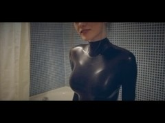 Ballet Heels & Latex Girl -two