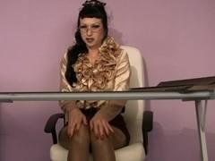 Trinity-Productions: Hairy Secretary