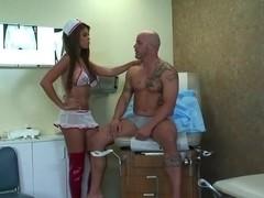 Bridgette B slammed by her patient