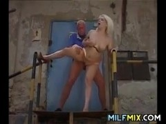 Blonde Woman Getting Fucked