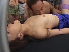 Mirei Japanese doll gets into hardcore sex