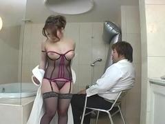Seira Takagi Uncensored Hardcore Video with Swallow, Creampie scenes