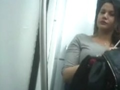 very hot chick found on the train with sexy lips