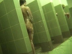Hidden cameras in public pool showers 916