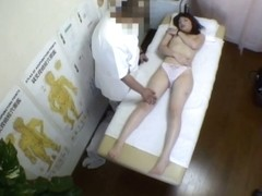 A candid video of a girl getting fucked on the massage table
