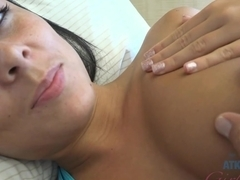 Exotic pornstar Gianna Nicole in Incredible Brunette, Foot Fetish sex clip