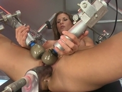 Best fetish adult movie with fabulous pornstar Ariel X from Fuckingmachines