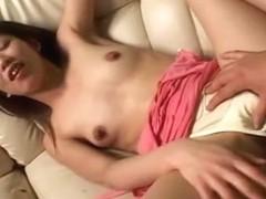 Exotic Japanese chick Ouka Fujimiya, Aya Manabe in Crazy Small Tits JAV scene