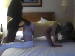 Amazing homemade shemale movie with Stockings, Interracial scenes