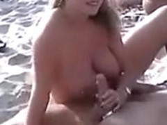Mature Nude Amateur Swingers Sex at the Beach
