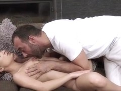 Teen Anita Berlusconi Gets Fingered And Sucks A Big Cock