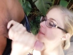Penny Pax is a good girl with proper swallowing opinion