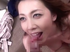 Hottest Japanese model in Crazy Handjob, Mature JAV video