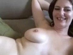 Chubby amateur slut shows her big stunning boobs on cam