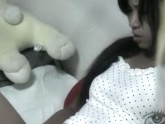 Awesome masturbation clip with a good-looking Asian cutie