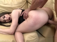 TEENGONZO Sexy Alexis Rodriguez penetrated by a big fat cock