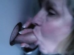 gloryhole slut sucking strangers
