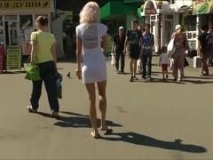 Walk barefoot on Yeltsin Russia