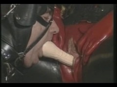Rubberdom fuckt with Fake Penis