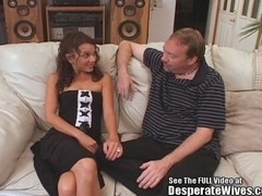 Twiggy Wife Trained to Fuck and Swallow
